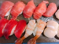 【ふるさと納税】返礼品でにぎり寿司.JPG