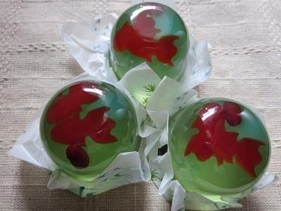 【宗家 源 吉兆庵】季節限定菓子の「金魚」|涼しげなゼリーは夏の手土産、贈り物におすすめ