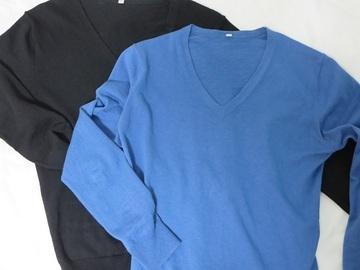 【無印良品】のVネックセーターは今年の春も大活躍!