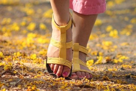 実測!足裏樹液シート使用前・使用後の足のむくみ状態