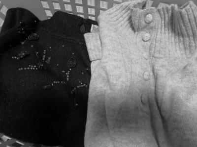冬物衣類の断捨離|月1回のゴミの日に合わせて