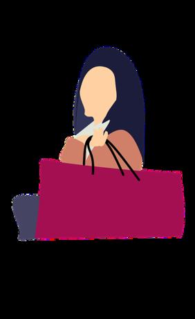 ショッピングバッグを全捨て!|きれいなショッピングバッグも使わないのならゴミといっしょ