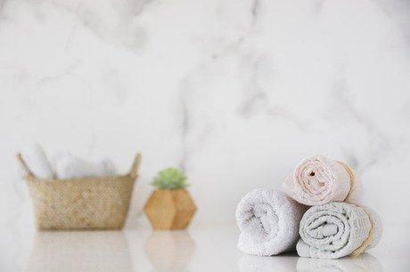 収納スペースと使い方に合わせたフェイスタオルのたたみ方、収納の仕方で洗面所を快適に